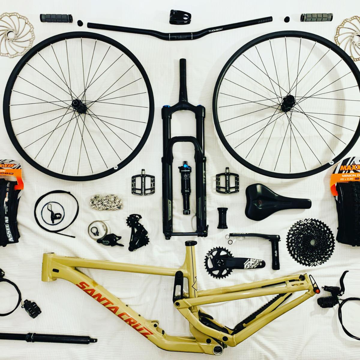 Hintergrundbild Bikepuzzle